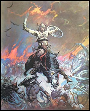 The Berserker - Print: Frank Frazetta