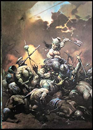 The Destroyer - Print: Frank Frazetta