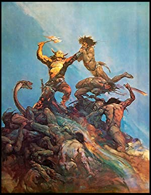 The Indomitable - Print: Frank Frazetta