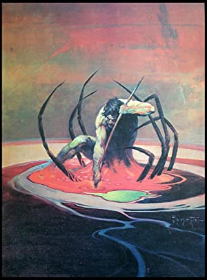 Spiderman - Print: Frank Frazetta