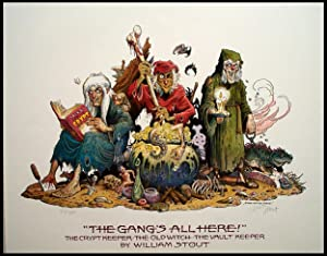 The Gang's All Here! - Limited Edition Print (Signed): William Stout