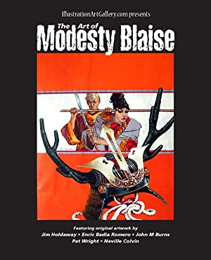 The Art of Modesty Blaise (catalogue of: Peter O'Donnell, introduction