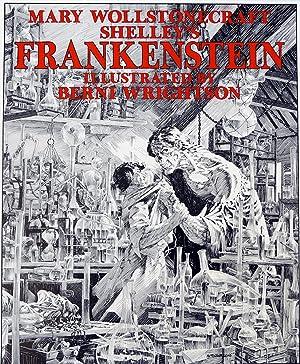 Frankenstein poster - Print: Bernie Wrightson