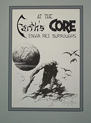 Edgar Rice Burroughs 8 Earth's Core -: Frank Frazetta