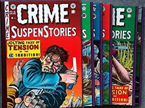 The Complete EC Library: Crime Suspenstories (5 Volume Boxed Set)