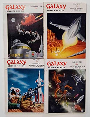 Galaxy Science Fiction – 4 early issues: Robert Sheckley, Roger