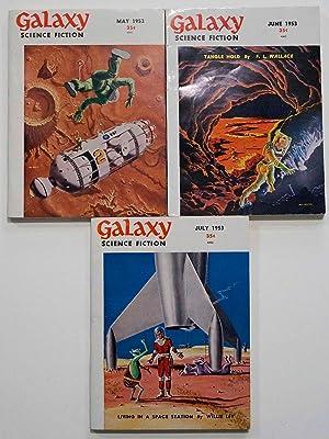 Galaxy Science Fiction – 3 consecutive early: James Gunn, Robert