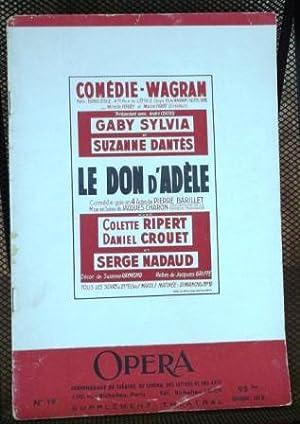 Le Don D'Adele: Piece en Quatre Actes: Barillet, Pierre; Gredy,