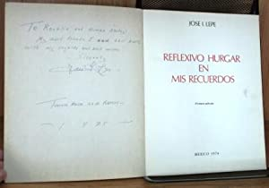 Reflexivo Hurgar En Mis Recuerdos: Lepe, Jose I.