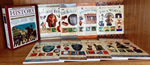 The History Book Box - 8 books: Ancient Egypt, The Roman Empire, Ancient Greece, The Inca World, ...