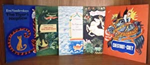 Set of 5 Folk Tales: The Tiger's Nephew; The Wolf Who Sang Songs; The Fisherman and the Goldfish;...