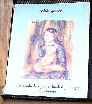 Importants Tableaux Modernes: Palais Galliera staff; Loudmer, Guy; Bellier, M. J.-C.