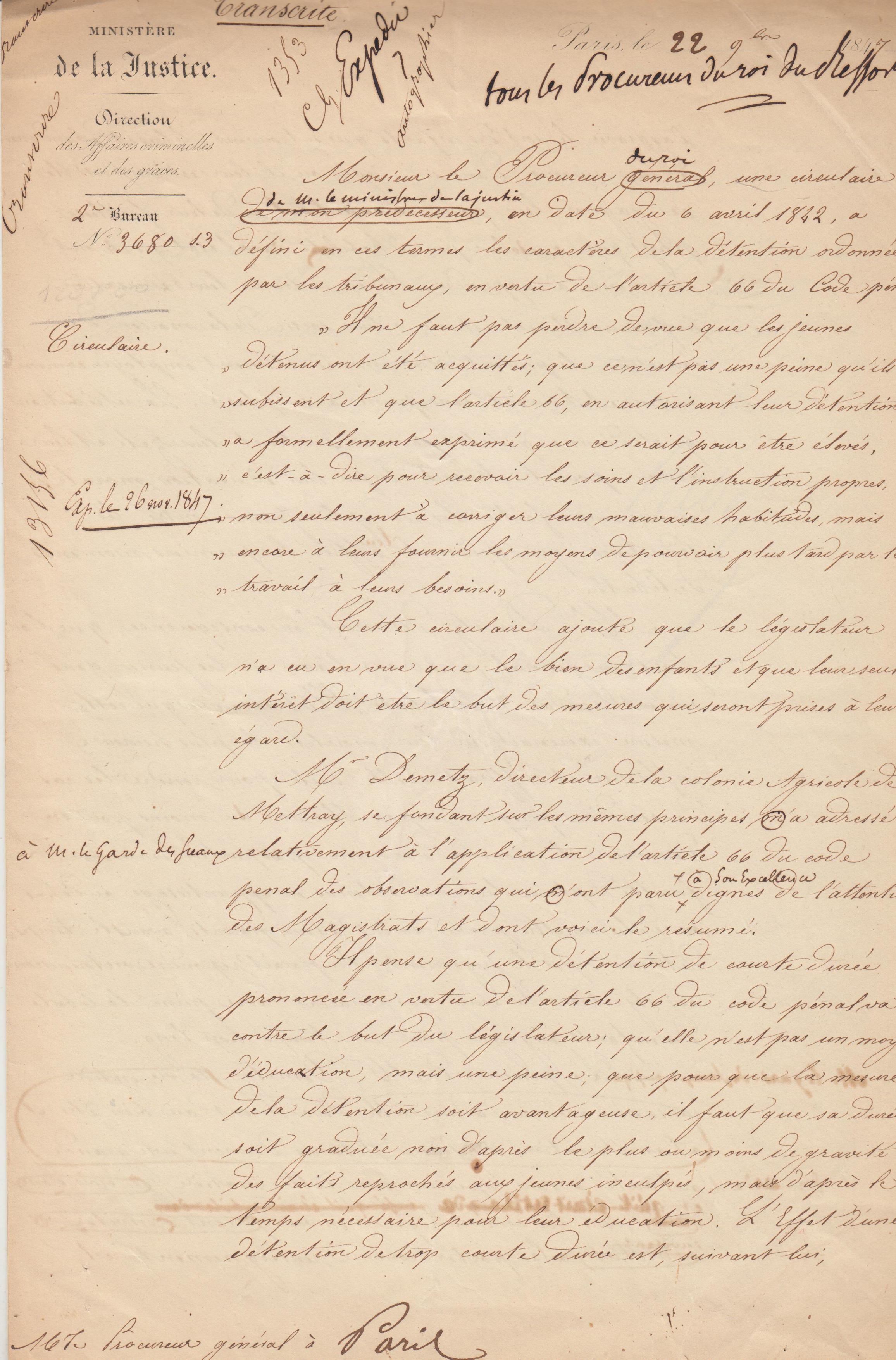 MANUSCRIT__Une_longue_lettre_manuscrite_in_folio_trois_pages_datée_de_1847_de_Hebert_un_ami_et_soutien_de_FA_Demetz_fondateur_de_la_colonie_pénit