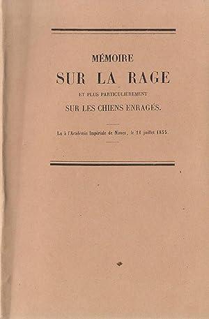 mémoire sur la rage et plus particulièrement: Hombres-Firmas, Louis-Augustin d'