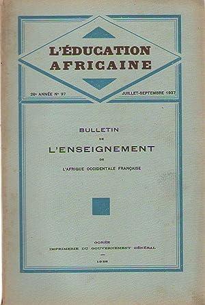 L'éducation africaine, bulletin de l'enseignement de l'afrique: Médecin-Colonel Crozat -