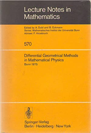 Differential geometrical methods in mathematical physics : proceedings of the symposium held at t...