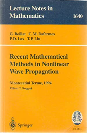 Recent mathematical methods in nonlinear wave propagation : lectures given at the 1st session of ...