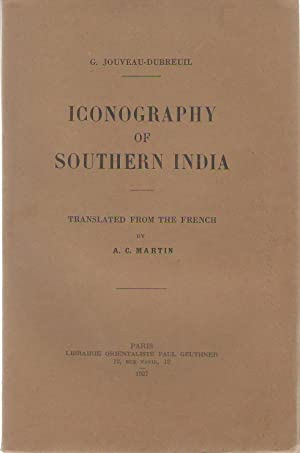 Iconography of Southern India : Translated from the French by A. C. Martin.