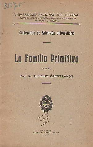 La familia primitiva: Alfredo Castellanos