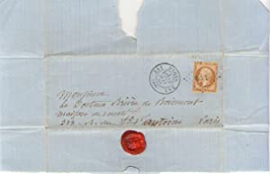 Lettre autographe signée à Brierre de Boismont: Alfred de VIGNY