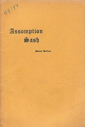 Assomption Sash: Marius Barbeau