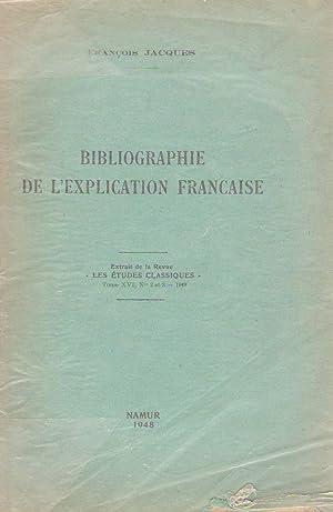 Bibliographie de l'explication française: François Jacques, historien