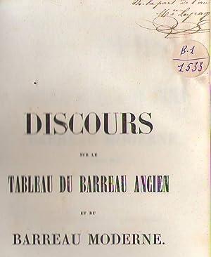 Discours de rentrées du Barreau de Paris: Jules FERRY - Alfred LEVESQUE - M. DELANGLE - ...