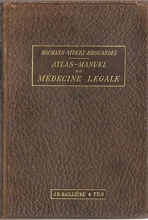 Atlas-Manuel de médecine légale: E. von Hofmann