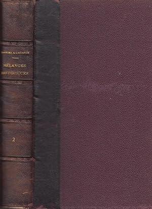 Mélanges historiques, philosophiques et littéraires. TOME SECOND: P. P. Charles