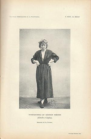 Nouvelle Iconographie de la Salpêtrière n° 3 1903: Charcot & Paul Richer & Gilles de la ...