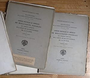 Exploration scientifique de la Tunisie. ILLUSTRATIONS de la partie paléontologique et géologique....