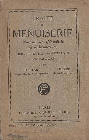 Traité de menuiserie : Notions de géométrie: Poussart & Caillard