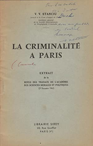La criminalité à Paris COPY SIGNED