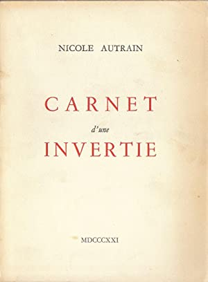 Carnet d'une invertie: Nicole Autrain [Nicole