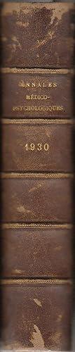 Annales Médico-Psychologiques, revue psychiatrique fondée par Jules Baillarger - ann&...