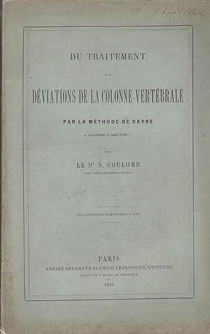 Du Traitement des Déviations de la Colonne: COULOMB (Noel).