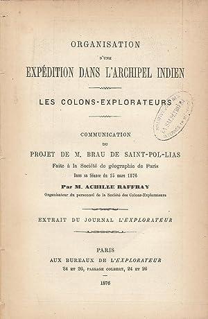 Organisation d'une expédition dans l'archipel indien : Achille Raffray