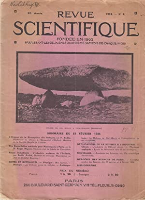 Le Dolmen de Dol Merch et l'interprétation de ses sculptures [in Revue Scientifique n°4, 1924]
