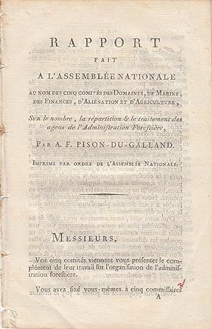 Rapport fait à l'Assemblée Nationale au nom: Alexis François Pison