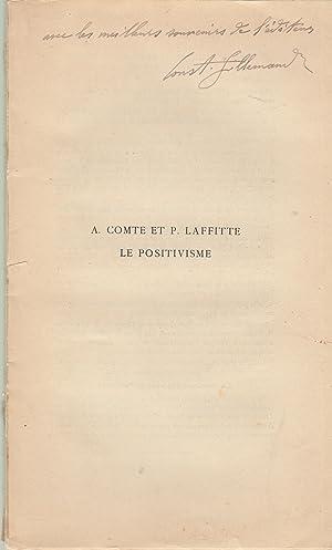 La vie et l'oeuvre de August Comte: Constant Hillemand