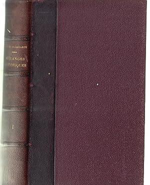 Mélanges historiques, philosophiques et littéraires publiés par: Charles Daniel -
