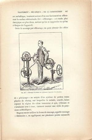 """Les mouvements méthodiques et la """"mécanothérapie"""": Fernand Lagrange"""