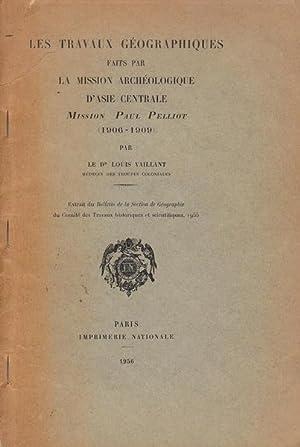 Rapport sur les Travaux géographiques faits par: Louis Vaillant