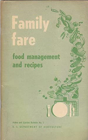 Family Fare. Food management and recipes. Home: U. S. Department