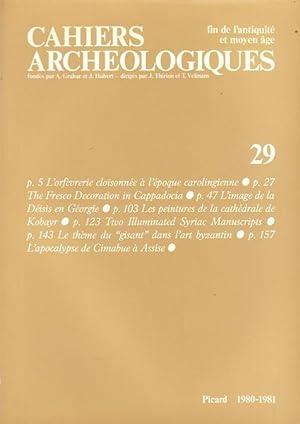 Cahiers archéologiques fin de l'antiquité et moyen: Danielle Gaborit-Chopin -