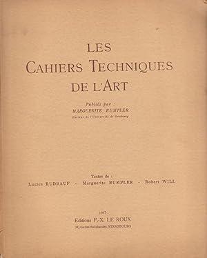 Les Cahiers Techniques de l'Art. Tome 1,: Lucien RUDRAUF -