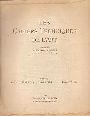 Les cahiers techniques de l'art vol. I: Charles Picard -