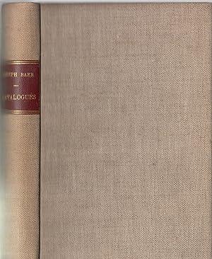 Letteratura italiana : libri antichi, classici, testi: Joseph Baer &