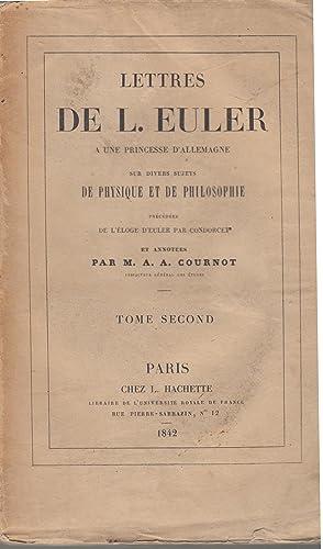 Lettres de Leonhard Euler à une princesse: Leonhard Euler