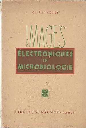 Images électroniques en microbiologie: C. Levaditi